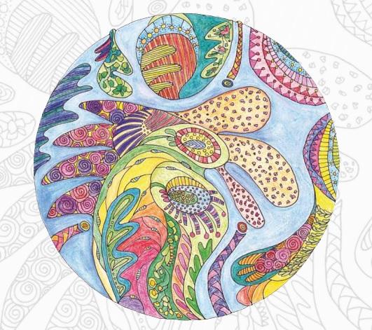 Kreative Entspannung und intuitives Malen