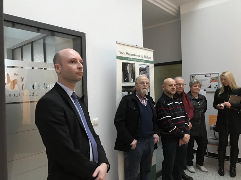 CDU Mitglieder besuchen HausLeben