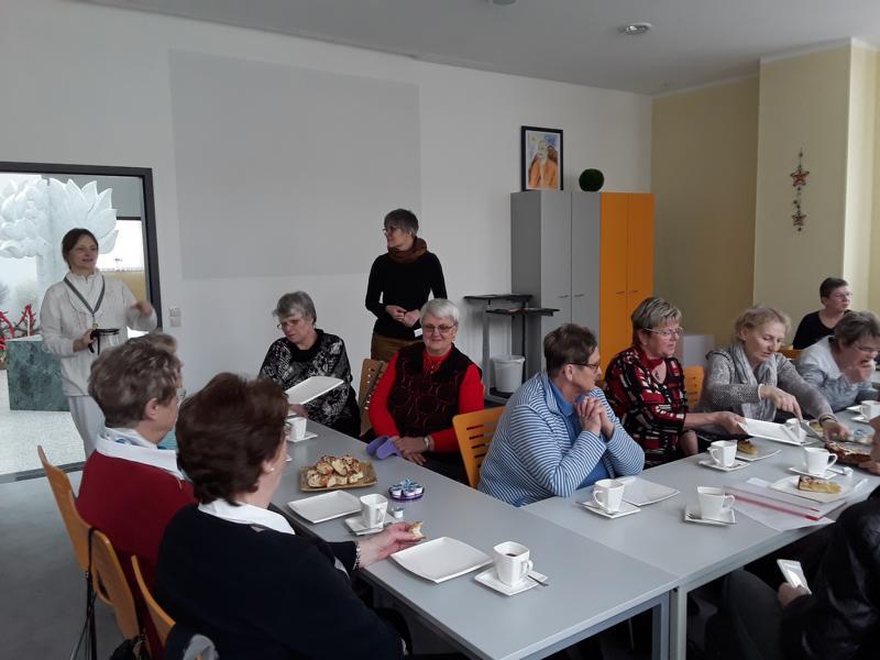 Brustkrebs-Selbsthilfegruppe Falkenberg im HausLeben