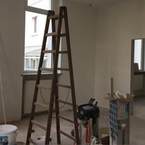 Umbau des Hauses